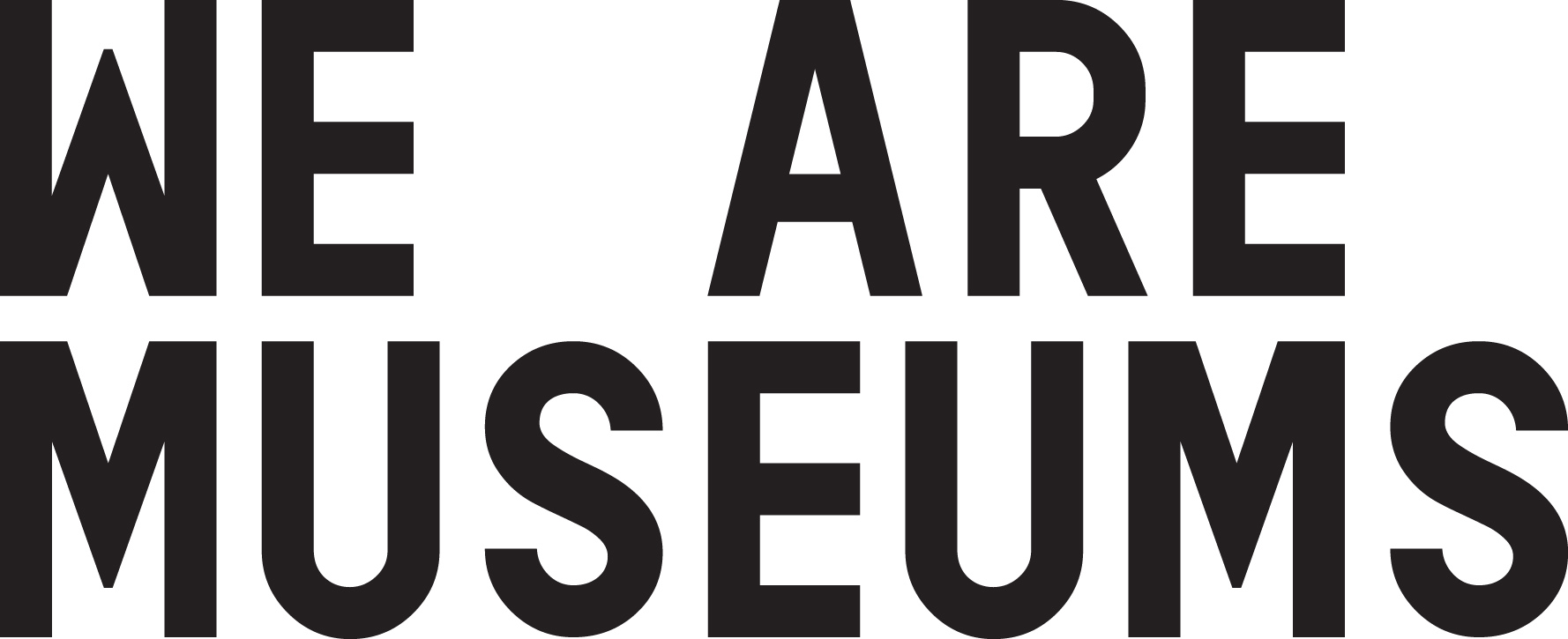 Logo We are museums